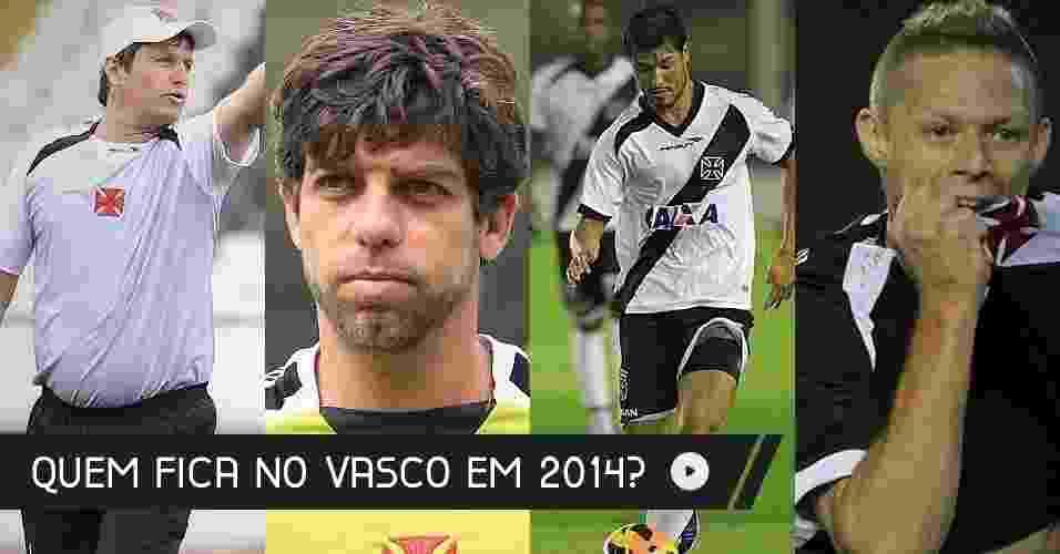 Após cair para a Série B pela segunda vez nos últimos cinco anos, o Vasco reformula o elenco para a próxima temporada. - Marcelo Sadio/ site oficial do Vasco