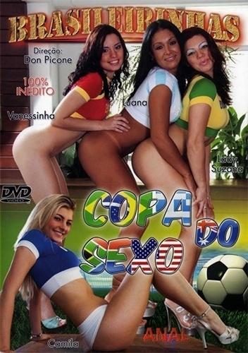 """Em 2010, a Brasileirinhas lançou seu """"Copa do Sexo"""", com garotas fazendo alusão aos países em disputa no Mundial da África do Sul; agora com a Copa no Brasil, uma segunda parte está em produção"""