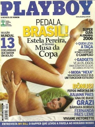 Estela Pereira foi a musa da Copa de 2006 para a Playboy