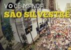 Você Manda: Envie fotos de suas participações na Corrida de São Silvestre - Arte UOL