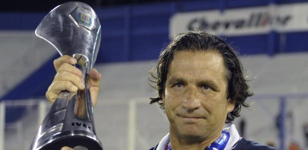 Juan Antonio Pizzi começou a exercer a função de técnico em 2005 - AFP PHOTO/Juan Mabromata
