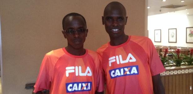 Campeão da São Silvestre Edwin Kipsang e Mark Korir têm vida confortável no Quênia - Luiza Oliveira/UOL