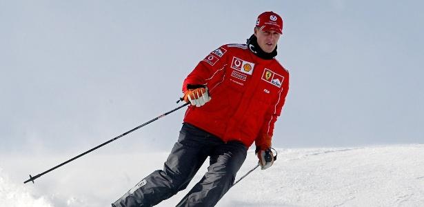 Em 2013, Michael Schumacher sofreu um acidente de esqui na França e passou meses em coma