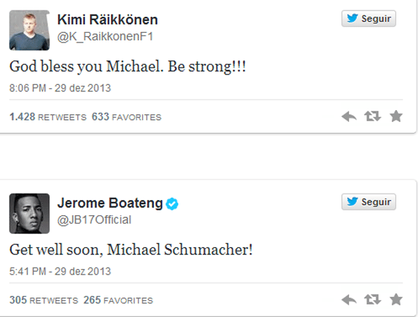 Tweets Schumacher