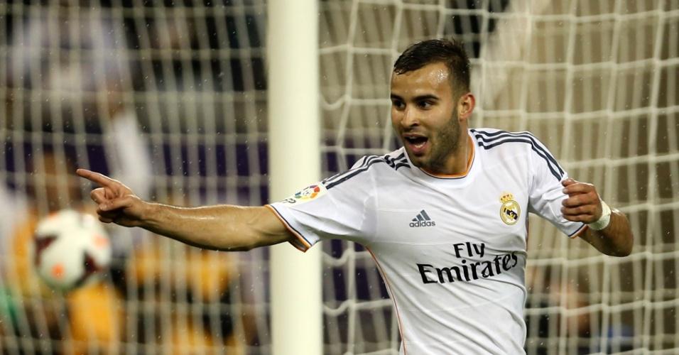 02.jan.2014 - Jesé abre o placar para o Real Madrid