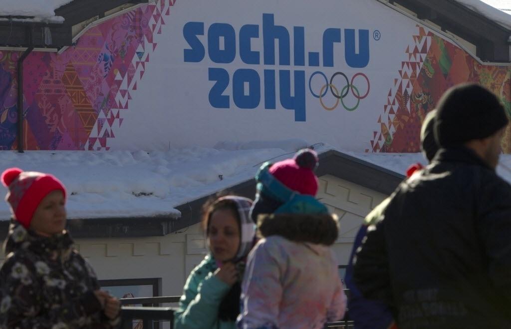 03.jan.2014 - Moradores de Sochi aguardam ansiosos e aflitos o início dos Jogos de Inverno, que começam em cinco semanas