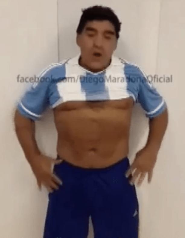 Maradona mostra