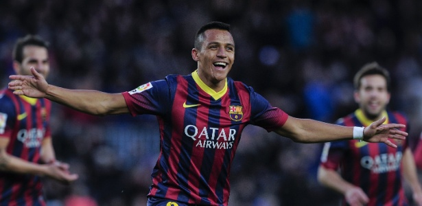 Alexis Sanchez foi contratado pelo Barcelona no início da temporada 2011/12, junto à Udinese