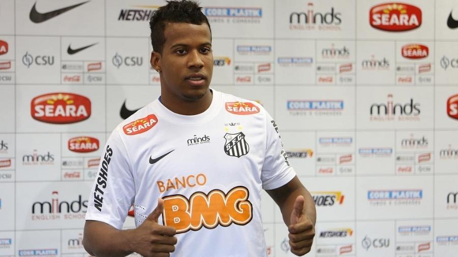Mercado da Bola2020: lateral esquerdo Guilherme Santos é o 1º reforço do Botafogo para temporada - Divulgação/Santos FC