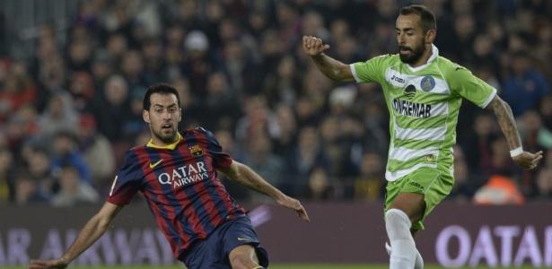 Volante espanhol declarou que apenas treinador e esposa poderiam fazê-lo deixar o Barça
