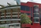 Tente identificar famosos estádios brasileiros pelas imagens da rua - Arte UOL