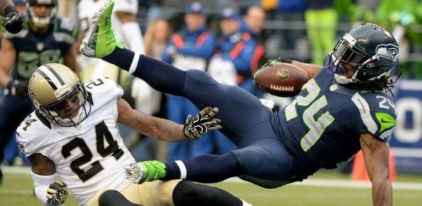 Marshawn Lynch pode ter anunciado sua aposentadoria durante o Super Bowl 50