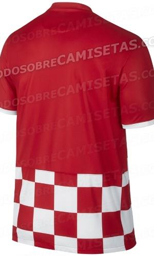 Uniforme da Croácia para a Copa de 2014