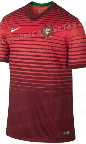 Uniforme de Portugal para a Copa de 2014