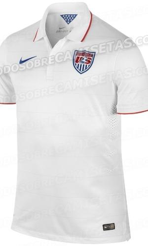 Uniforme dos Estados Unidos para a Copa de 2014
