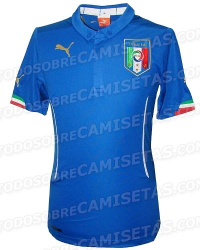 Uniforme da Itália para a Copa de 2014