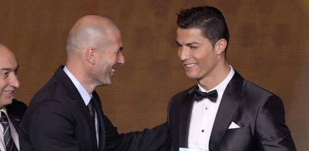 Zidane agora é comandante de Cristiano Ronaldo