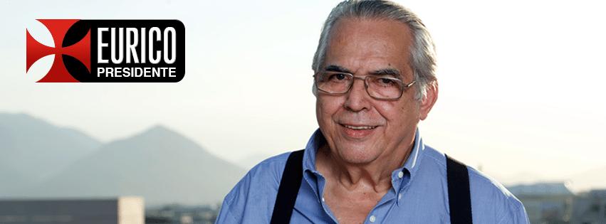 Eurico Miranda lançou oficialmente nesta segunda-feira sua candidatura à presidência do Vasco