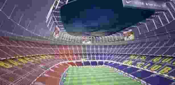 Barcelona anuncia reforma bilionária em seu estádio  veja como vai ficar f87354f0d368b