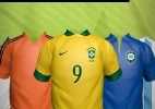 Seja o craque e vista as camisas mais famosas das Copas do Mundo - Arte/UOL