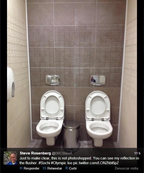 21. jan. 2014 - Banheiros sem divisórias para Jogos Olímpicos de Sochi