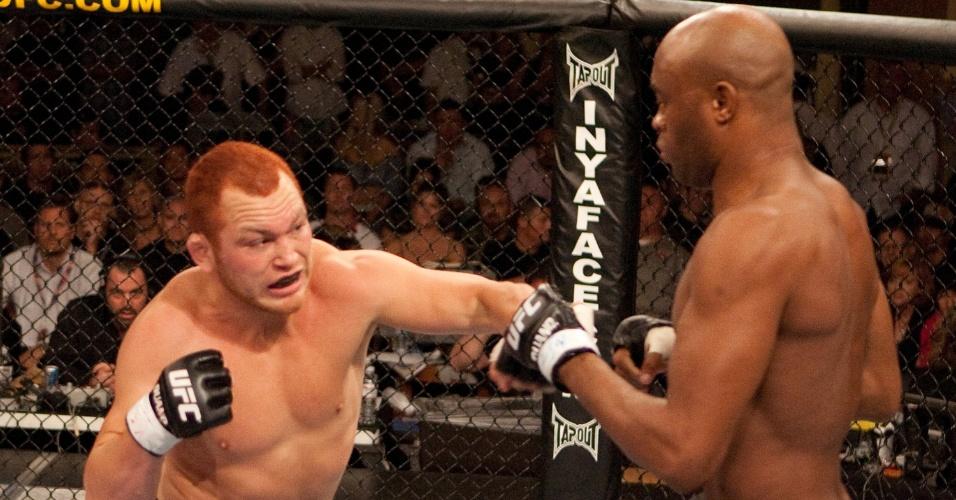 Chris Leben foi a primeira vítima de Anderson Silva no UFC em 2006