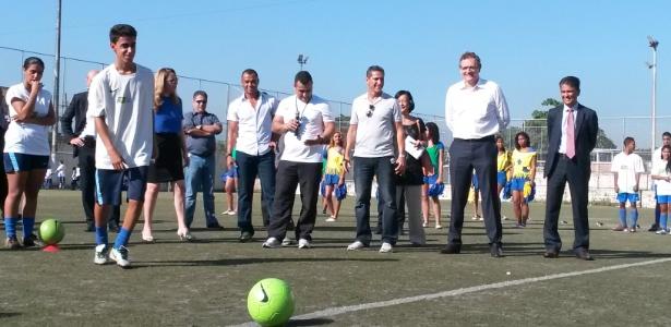 Valcke lançará projeto social da Fifa em evento programado para terça-feira, no Rio de Janeiro