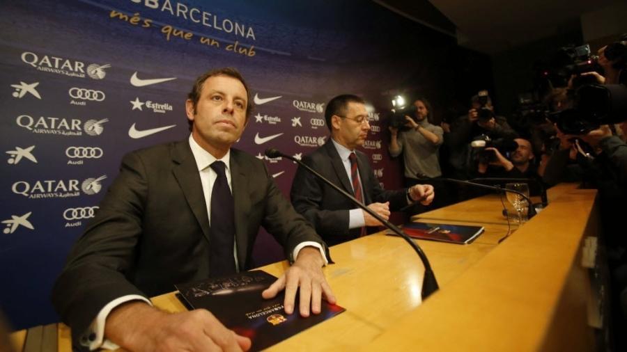 Sandro Rosell divulga que deixará a presidência do Barcelona - EFE/Alejandro García