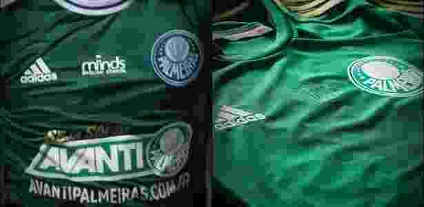 5216eac70b Palmeiras faz ajuste em camisa do centenário para adaptar único patrocínio