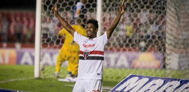 Ewandro disputou 22 partidas pelo São Paulo, em 2014 e 2015