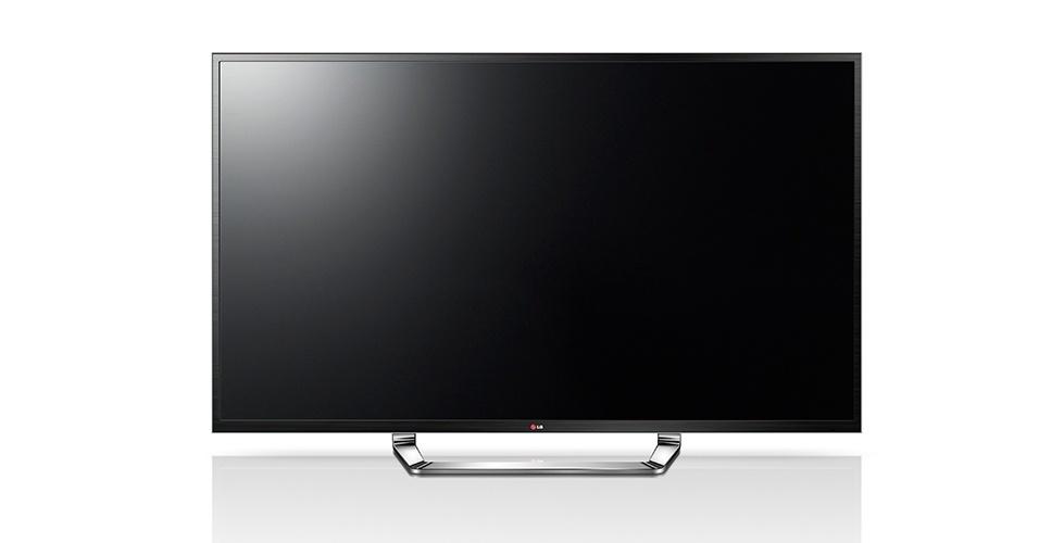 """A Ultra HD 84"""" da LG é o primeiro modelo do mundo com tecnologia ultra HD (4K). Com ela, é possível recriar o 3D do cinema, tanto em qualidade quanto em escala, pois existe profundidade mesmo nas cenas em 2D e a tela possui tamanho de quatro televisores de 42"""". É quase como assistir aos jogos da Copa no cinema, pois essa TV tem um sistema de som compatível com o tamanho da tela, 50W de áudio, formado por dois alto-falantes de 10W e dois subwoofers de 5W, que reforçam os sons graves e produzem uma experiência de áudio mais rica. Preço sugerido: R$ 44.999,00"""