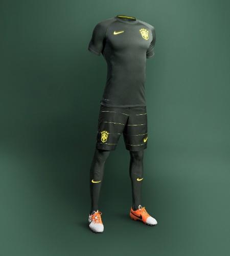 Novo terceiro uniforme da seleção brasileira