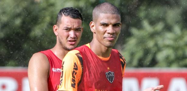 """Dupla ficou conhecida como """"torres gêmeas"""" e figuram entre os maiores artilheiros do Galo - Bruno Cantini/site oficial do Atlético-MG"""