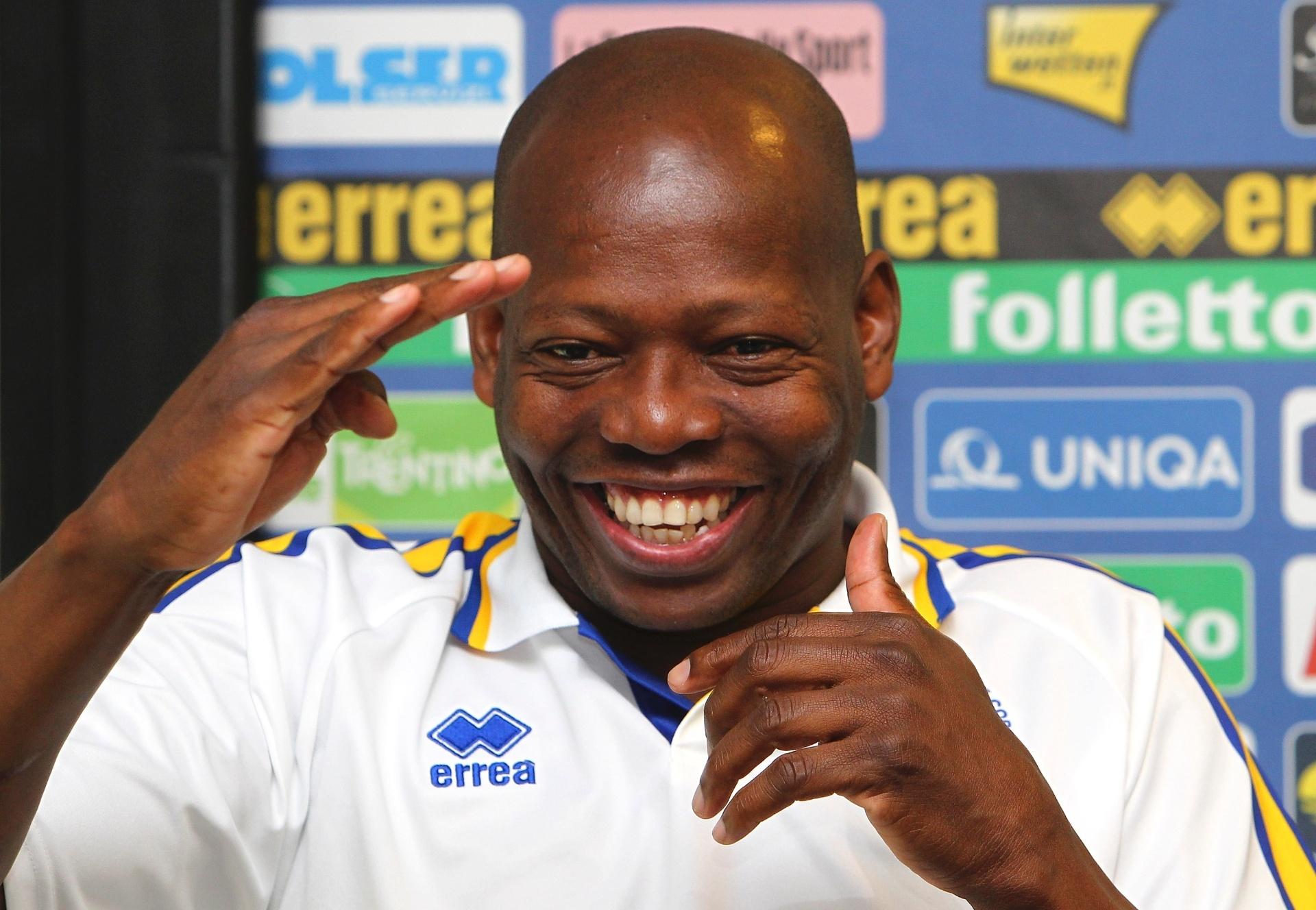 Asprilla nos tempos de Parma; ex-jogador hoje tem time que leva seu nome
