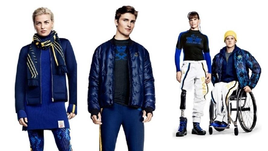 04. 02. 2014 - Uniforme da Suécia para os Jogos Olímpicos de Inverno