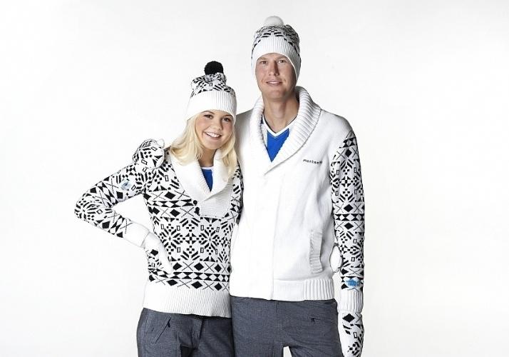 04. 02. 2014 - Uniformes da Estônia para os Jogos Olímpicos de Inverno