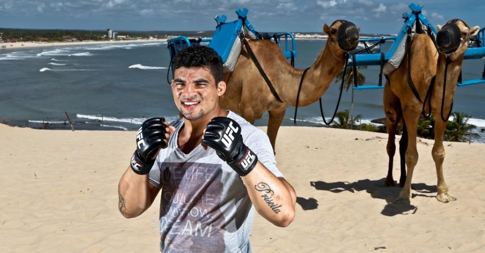 04.02.14 - Evento do UFC em Natal terá luta do potiguar Ronny Markes (foto) contra Thiago