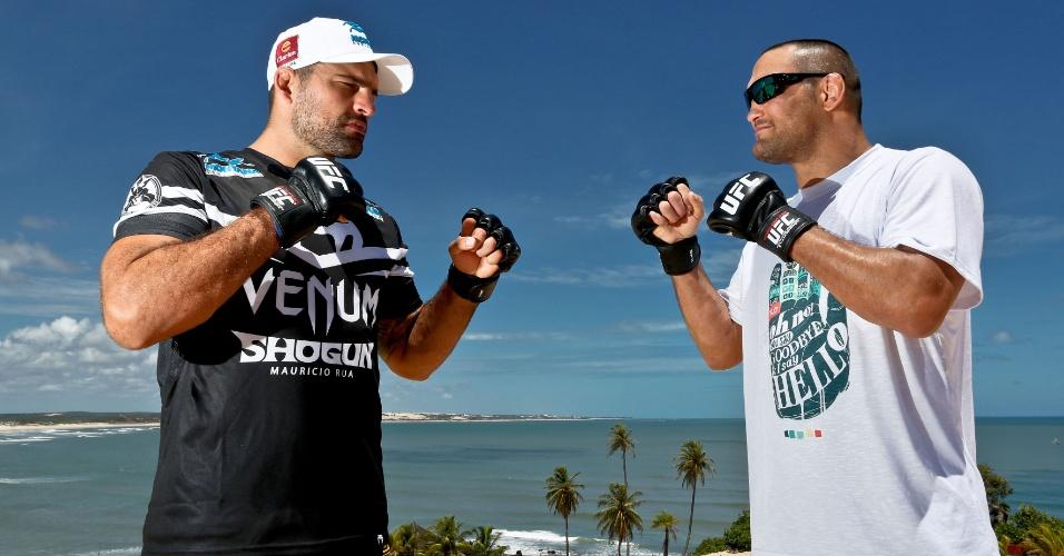 04.02.14 - Natal será a segunda cidade brasileira a receber um evento o UFC em 2014 e a principal luta será a revanche de Shogun contra Henderson