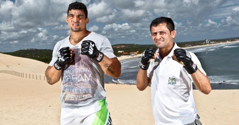 04.02.14 - Potiguares Ronny Markes e Jussier Formiga enfrentarão rivais no UFC em Natal