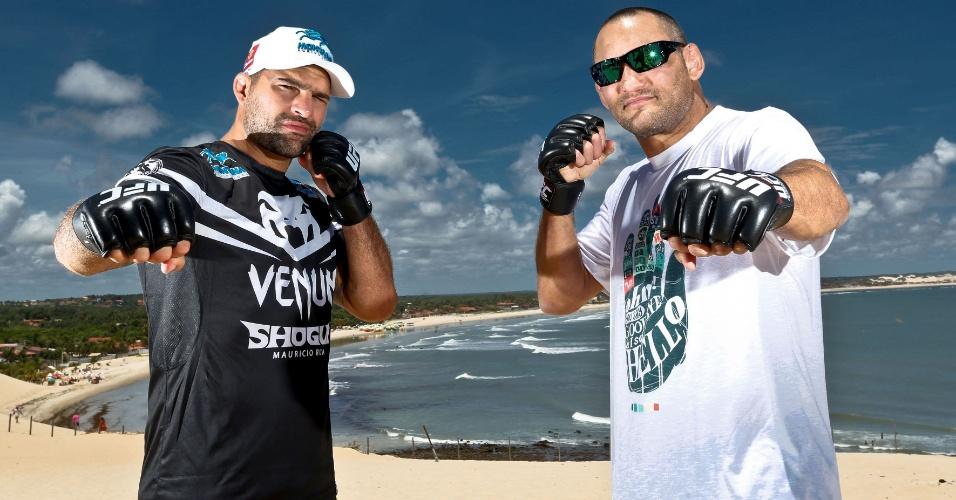 04.02.14 - Revanche será o principal duelo do UFC em Natal, cujo nome oficial é UFC Fight Night no Combate: Shogun vs. Henderson 2