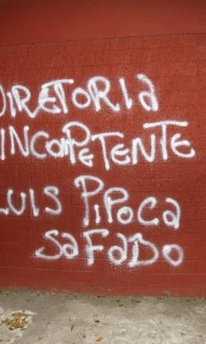 Fotos Torcedores Picham Ct Do São Paulo Com Frases Contra
