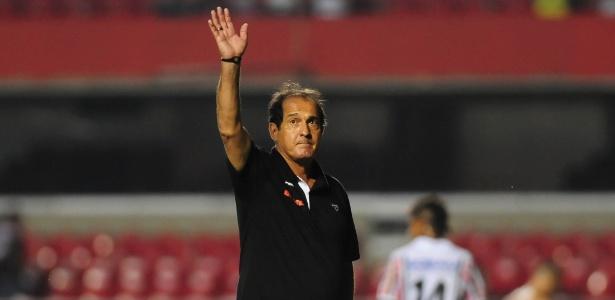 Muricy Ramalho quando comandava a equipe do São Paulo