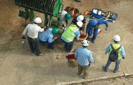 Operário se acidenta gravemente em obra da Arena Amazônia