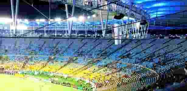 Pouco público em jogos no Maracanã dão prejuízo ao Fluminense, que prefere jogar em Edson Passos - Pedro Ivo Almeida/UOL