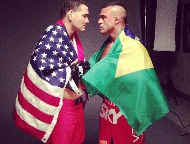 Chris Weidman e Vitor Belfort se enfrentariam em maio, se o tratamento de TRT não tivesse sido proibido em fevereiro. Com isso, a luta foi remarcada para 6 de dezembro, no UFC 181
