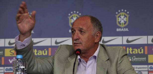 Felipão demonstrou confiança no título do Mundial