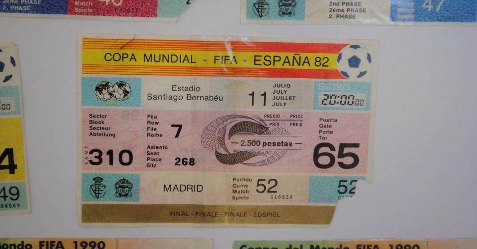 Das oito Copas que assitiram, em apenas uma conseguiram ver a final. Foi na Espanha, em 1982, entre Alemanha e Itália