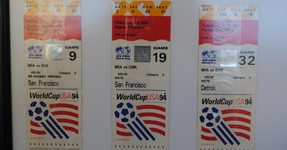 Na Copa dos Estados Unidos, os amigos mineiros compraram um pacote que incluíaos três jogos da primeira fase,mais passagem e hospedagem. Mas acabaram voltando para o Brasil sem ver a seleção ser campeã