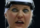 Grete Gaim: a biatleta dos olhos assustadores - Reuters