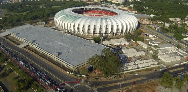 Ações de marketing visam reduzir os custos do Inter para pavimentar entorno do estádio Beira-Rio